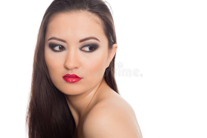 Piękna młoda Azjatycka kobieta fotografia stock