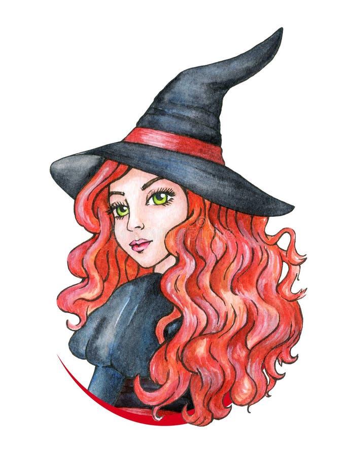 Piękna młoda dziewczyna - czarownica karnawał kostiumowy Venice beak dekoracyjnego latającego ilustracyjnego wizerunek swój papie ilustracji