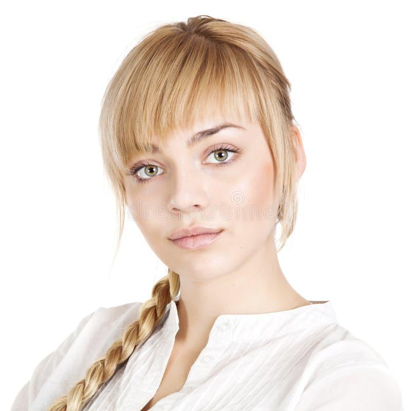Piękna młoda kobieta obrazy royalty free