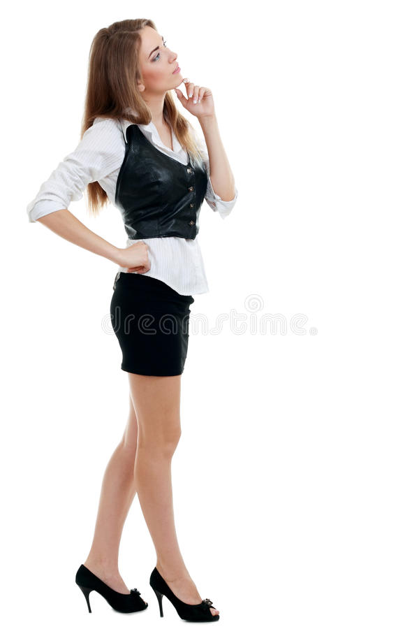 Piękna młoda kobieta zdjęcie royalty free