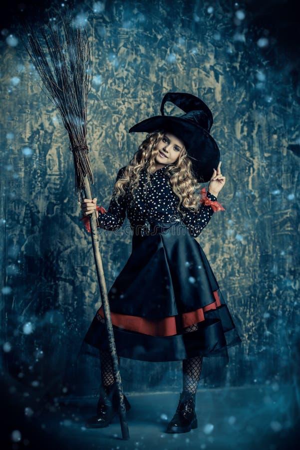 Piękna mała czarownica obrazy stock