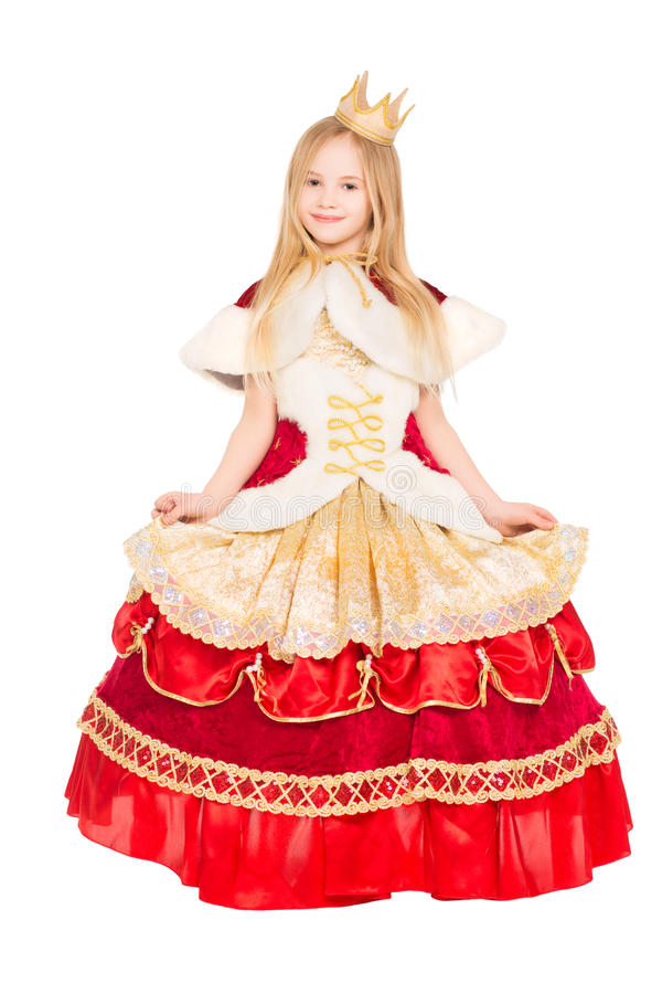 Piękna mała dziewczynka fotografia stock