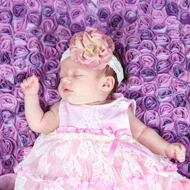 Piękna mała dziewczynka w studiu zdjęcie royalty free