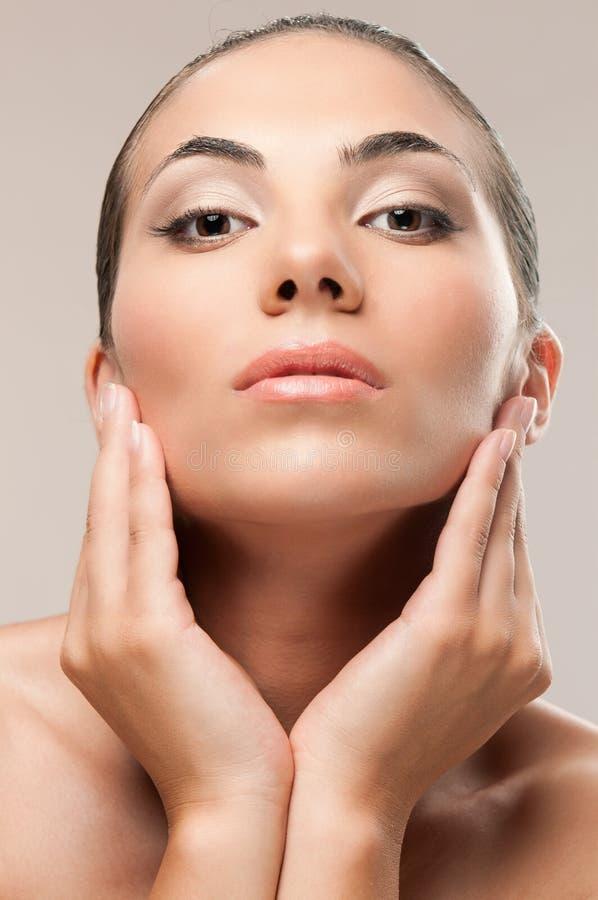 piękna makeup model fotografia stock