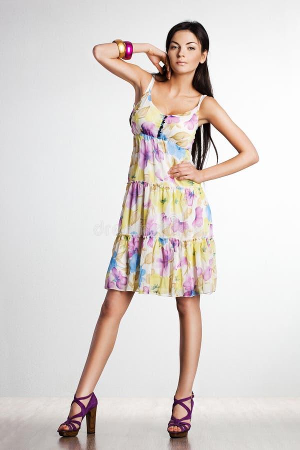 Piękna modna kobieta fotografia stock