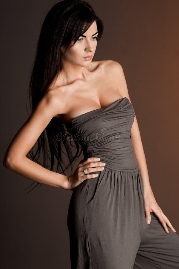 Piękna modna kobieta obraz royalty free