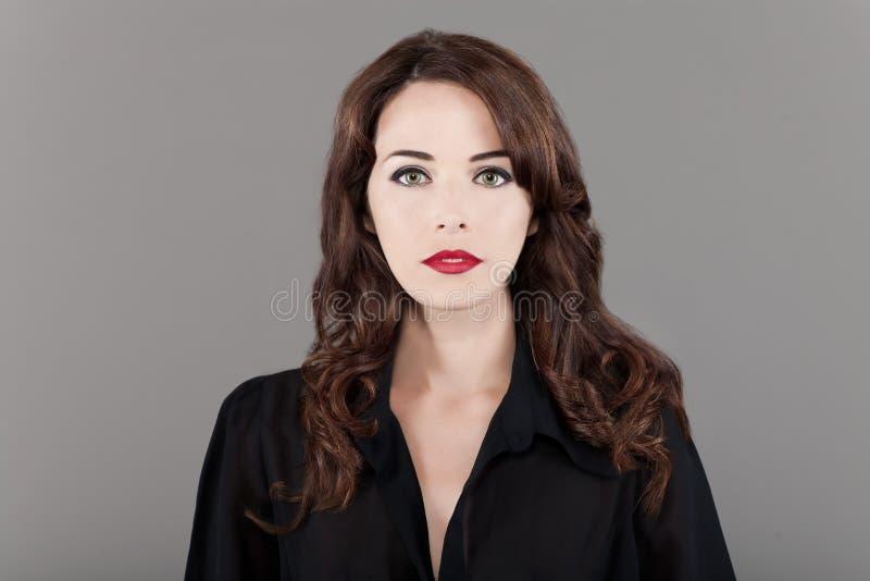 Piękna modna kobieta zdjęcia stock