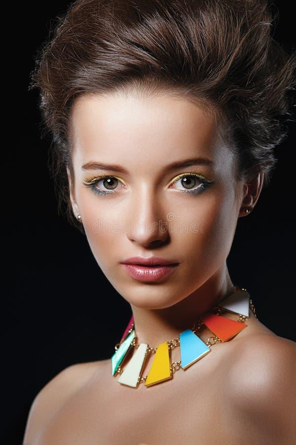 piękna mody fotografii kobieta fotografia stock