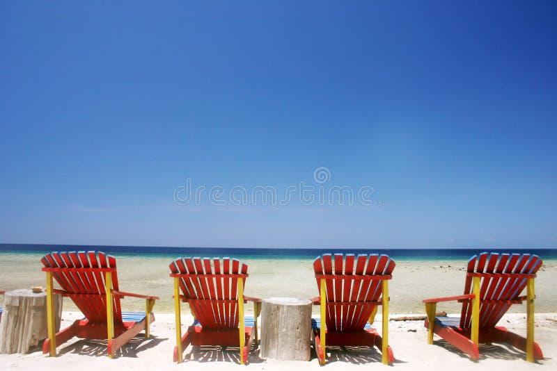 piękna na plaży fotografia stock