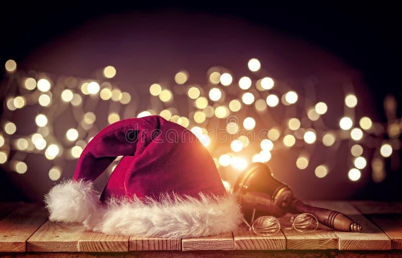 piękna nakrętki Claus ilustracja Santa zdjęcia stock