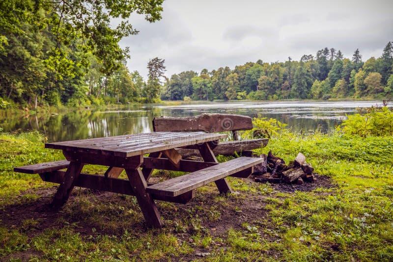 Piękna natura Latvia zdjęcia royalty free