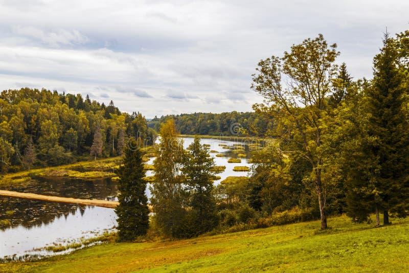 Piękna natura Latvia zdjęcia stock