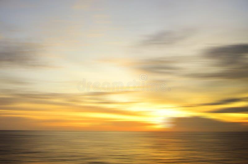 Piękna niebo formacja należna długi ujawnienie skutek przy mabul isla zdjęcie stock