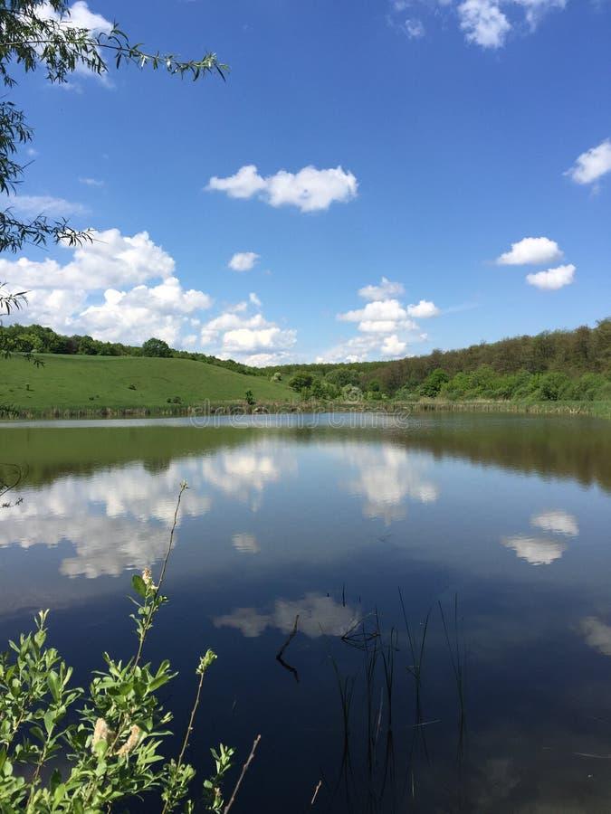 piękna niebo wody zdjęcie stock