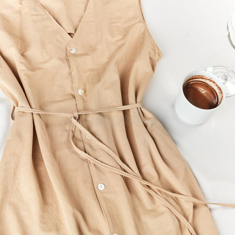 Piękna niezwykła kreatywnie strój prezentacja reklamowa?, zdjęcia royalty free