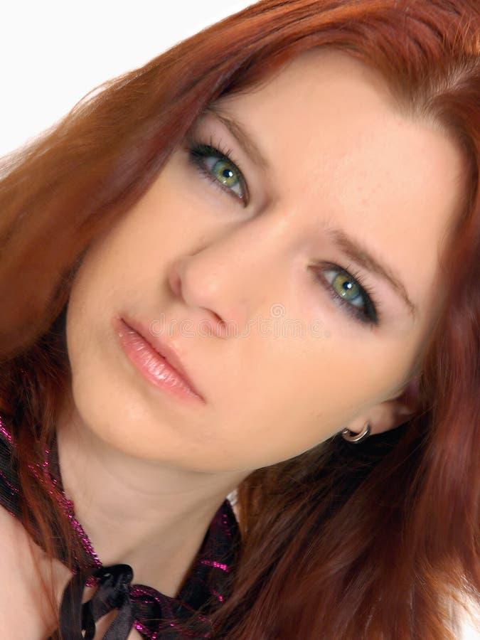 piękna oko zielone zdjęcie stock