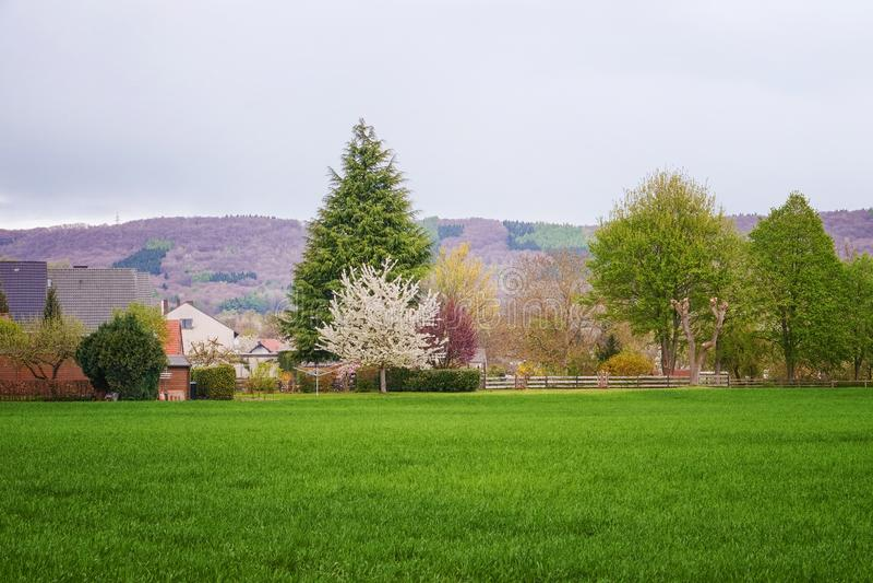 piękna okolica krajobrazu zdjęcie stock