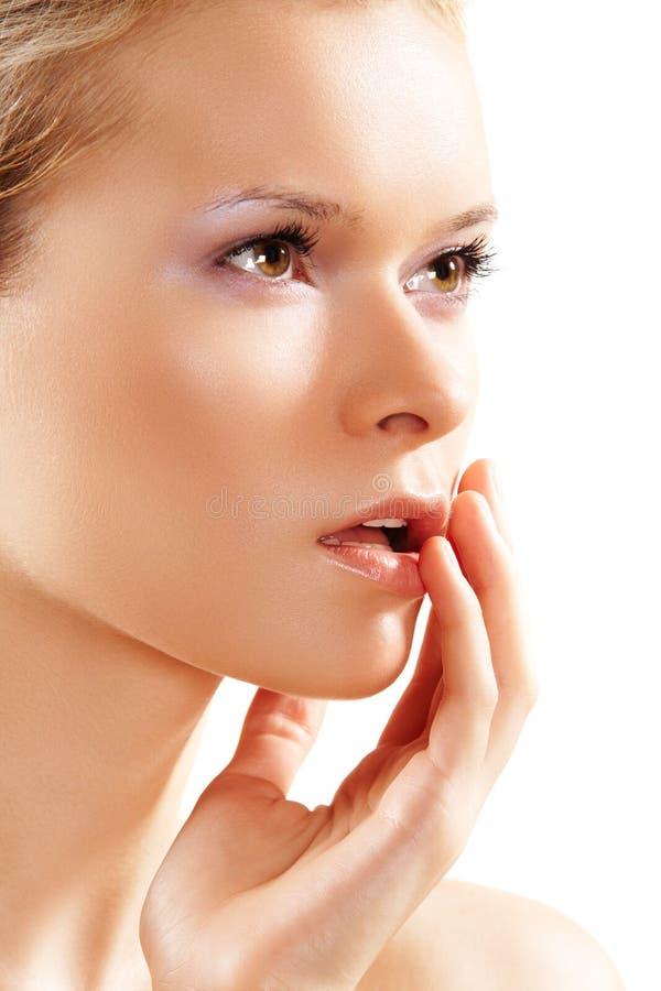piękna opieki opieki zdrowotnej skóry wellness kobieta zdjęcia stock