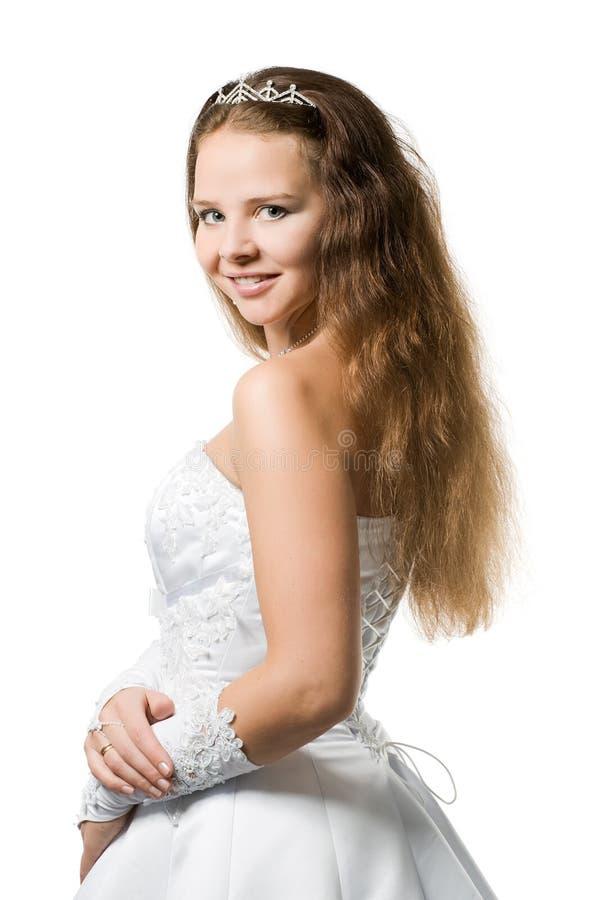 piękna panna młoda fotografia royalty free