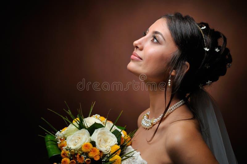 piękna panna młoda zdjęcia stock