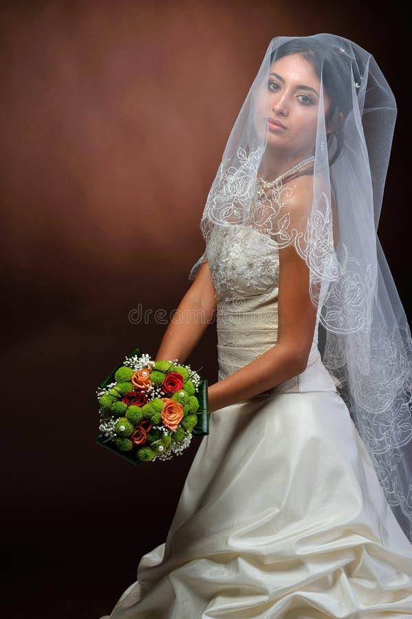 piękna panna młoda fotografia stock