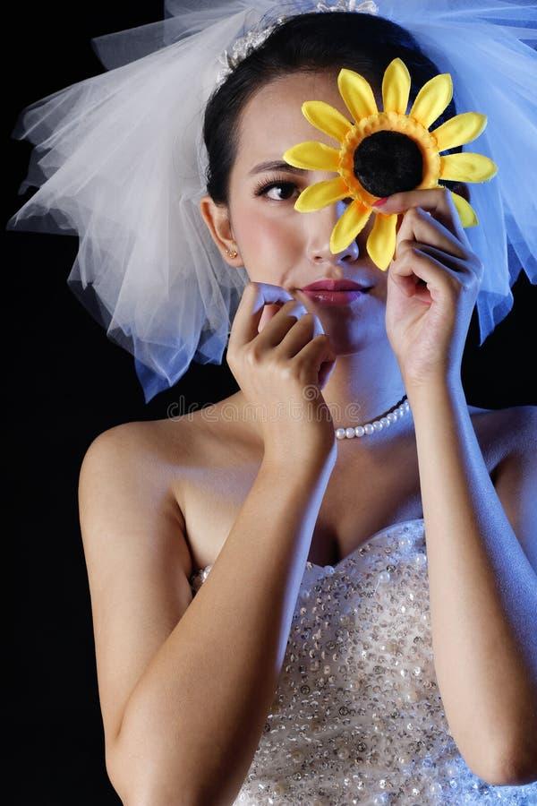 piękna panna młoda obrazy stock