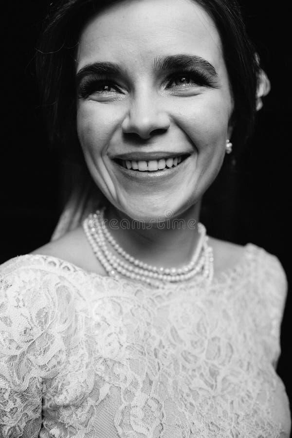 piękna panna młoda portret obrazy royalty free
