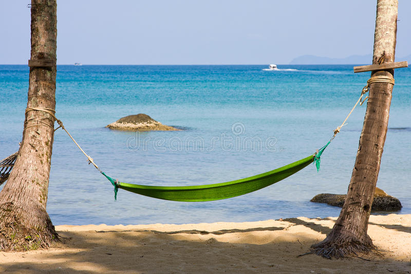 Piękna plaża zdjęcia stock