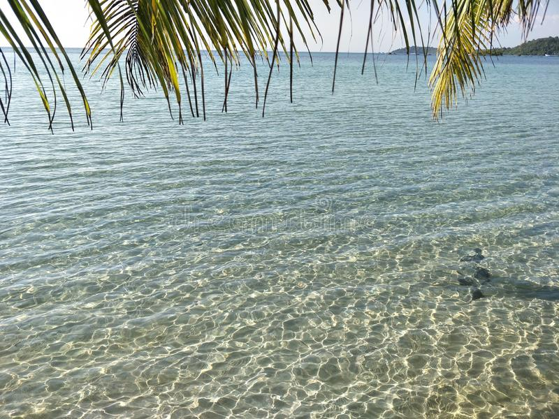 piękna plaża na wyspie koh kood, trad, tajlandia obraz royalty free