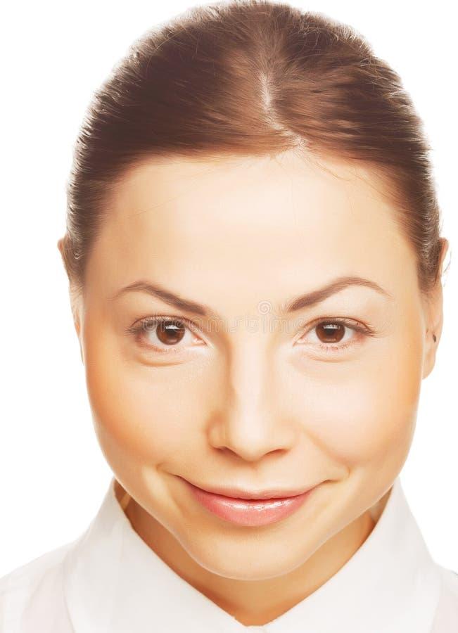 piękna portret kobiety zdjęcie stock