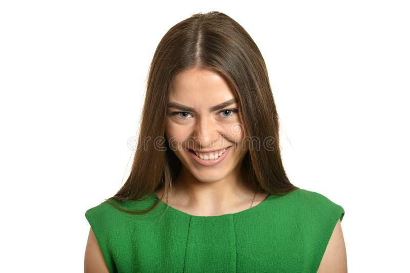 piękna portret kobiety fotografia royalty free