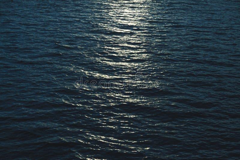 piękna powierzchni morza obraz royalty free