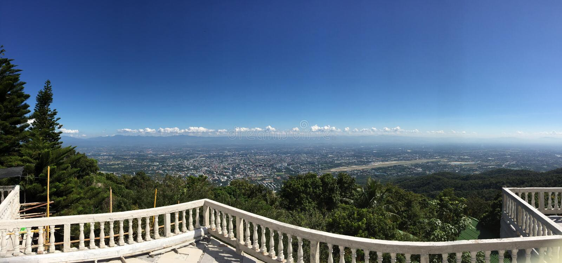 Piękna sceneria Chiang Mai, Tajlandia obraz royalty free