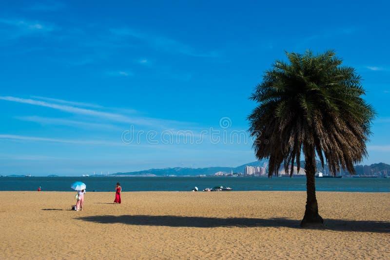 Piękna sceneria w Gulang wyspie zdjęcia stock