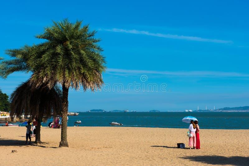 Piękna sceneria w Gulang wyspie zdjęcie royalty free