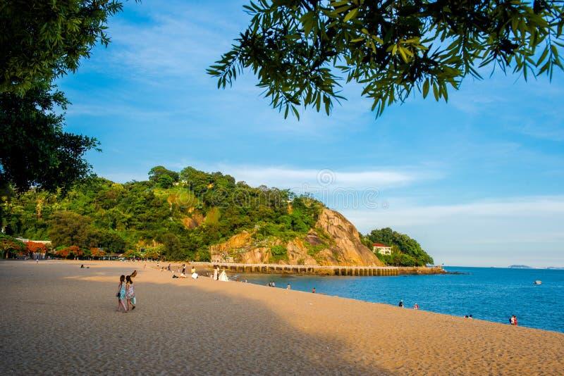 Piękna sceneria w Gulang wyspie obrazy royalty free