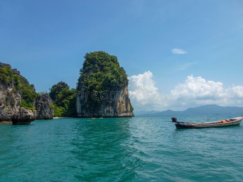 Piękna sceneria wyspa w Tajlandia zdjęcie stock