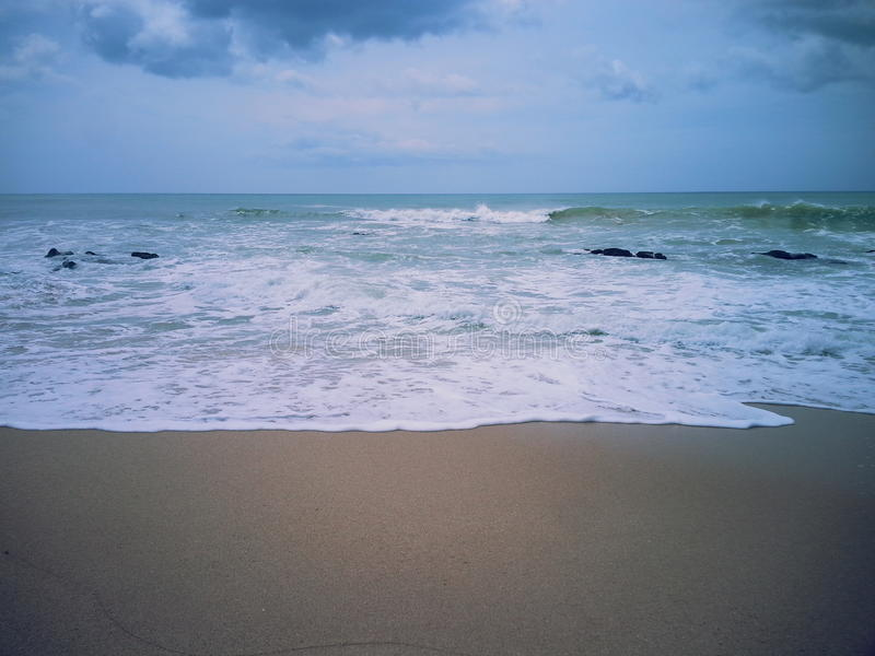 piękna seashore obrazy royalty free