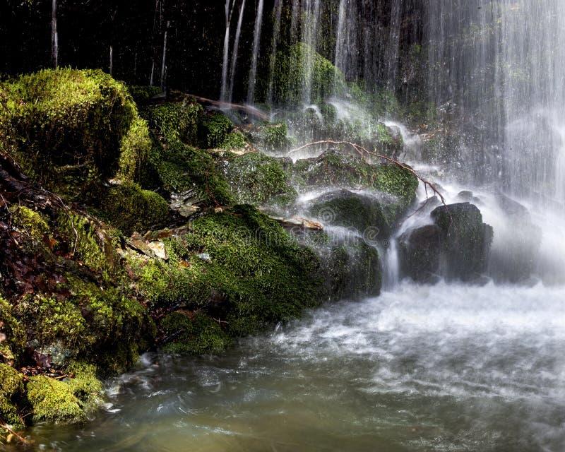 Piękna siklawa w Macedonia zdjęcia stock