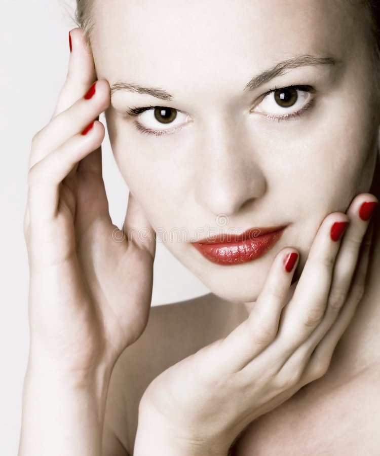 piękna skóra opieki fotografia royalty free