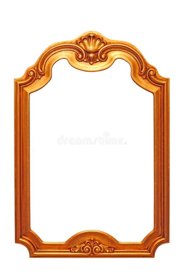 Barok rama obraz stock