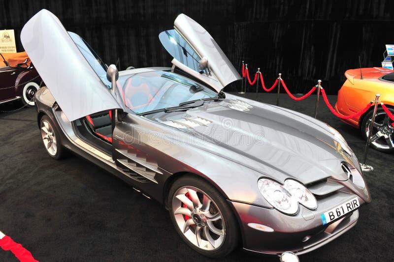 mcLaren Mercedez SLR sportów samochód zdjęcia stock