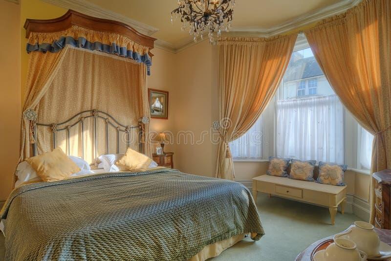Luksusowa Orientalna Hotelowa Sypialnia Zdjęcie Stock ...