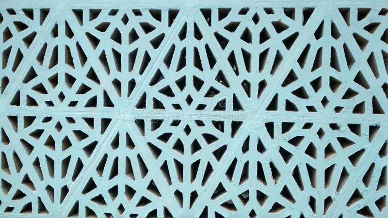 Piękna tekstura kamień tło szczegółów tekstury okno stary drewniane Błękitna geometryczna tekstura zdjęcia royalty free