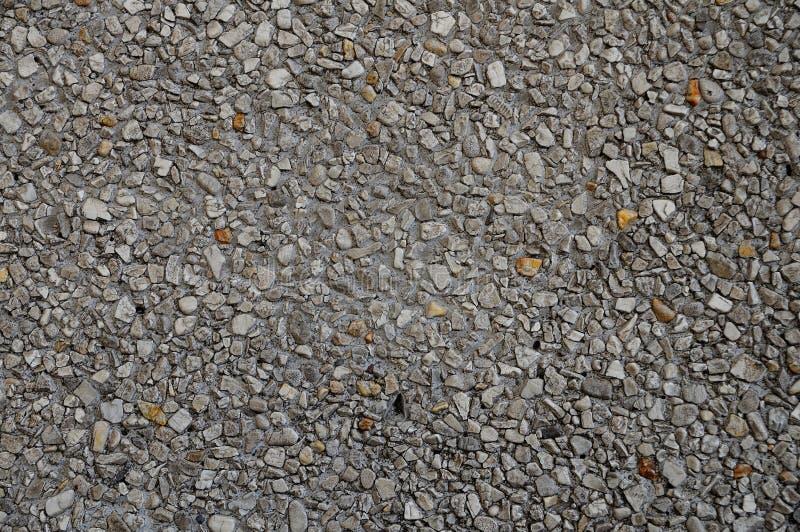 Piękna tekstura od małej skały na podłoga obrazy stock