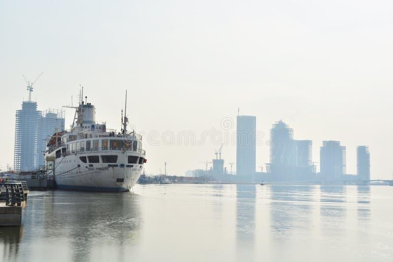 Piękna Tianjin sceneria obrazy royalty free
