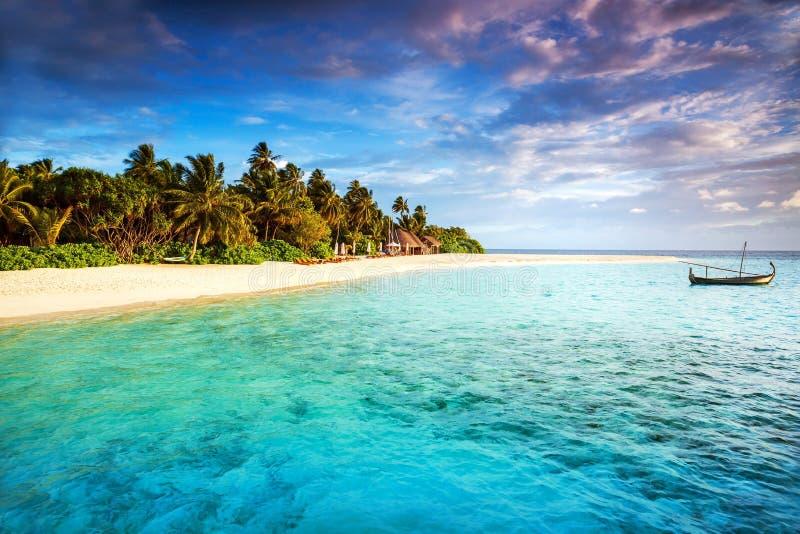 Piękna tropikalna wyspa zdjęcie stock