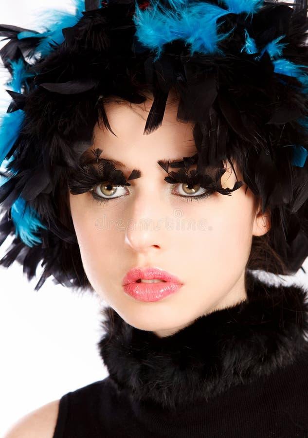 piękna twarz zdjęcia royalty free