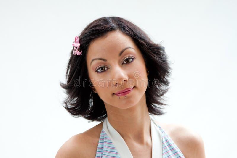 piękna twarz Latina zdjęcia royalty free