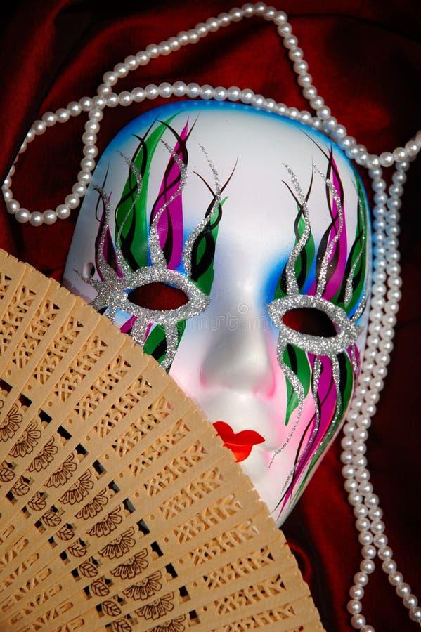 piękna twarz orientalna konceptualna zdjęcie royalty free